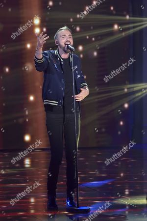 Stock Image of Christophe Willem