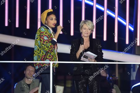 Imany and Sophie Davant