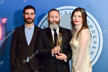 Editorial image of British Independent Film Awards 2017 Press Room, London, UK - 10 Dec 2017