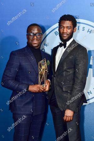 Femi Oguns MBE wins Special Jury Prize presented by Malachi Kirby