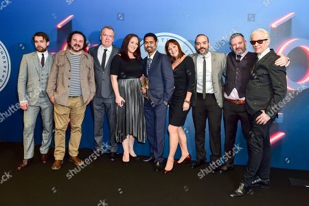 Jason Wingard, Hannah Stevenson, Rebecca-Clare Evans and Chris Bouckley win The Discovery Award sponsored by Raindance 'In Another Life' presented by Christian Cooke and Elliot Grove