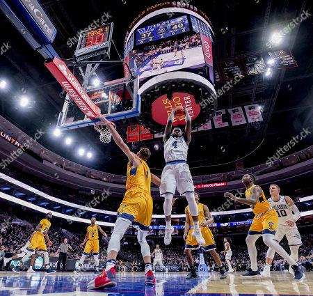 Editorial image of NCAA Basketball Villanova v La Salle, Philadelphia, USA - 10 Dec 2017