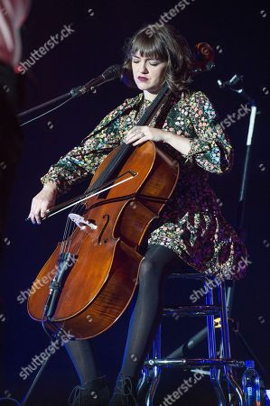 Neyla Pekarek of The Lumineers performs at the 2017 KROQ Almost Acoustic Christmas at The Forum, in Inglewood, Calif