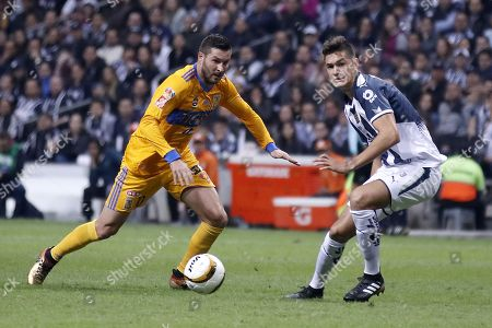 Cesar Montes and Andre Pierre Gignac