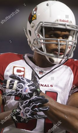 Arizona Cardinals running back Jason Wright (31) is shown prior to the Minnesota Vikings and Cardinals NFL football game in Minneapolis on