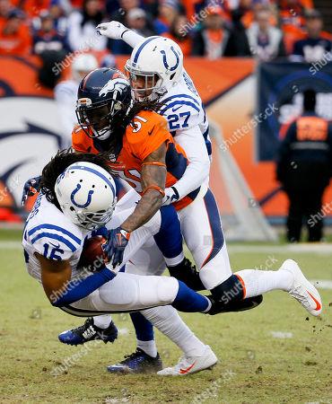 Editorial image of Colts Broncos Football, Denver, USA - 11 Jan 2015