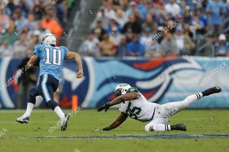 Editorial photo of Jets Titans Football, Nashville, USA - 29 Sep 2013