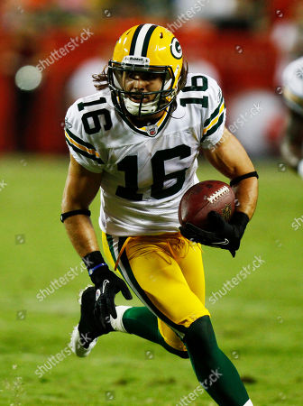 Green Bay Packers wide receiver Brett Swain (16) during the first half of a preseason NFL football game against the Kansas City Chiefs in Kansas City, Mo