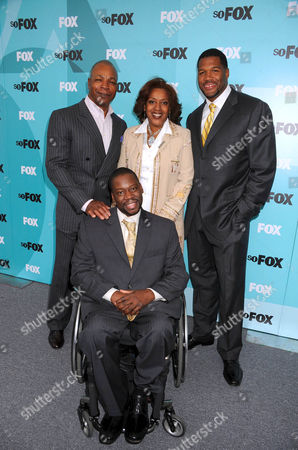 Carl Weathers, Cch Pounder, Daryl Mitchell, Michael Strahan