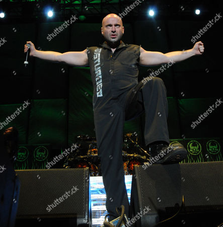Editorial picture of Disturbed in concert at Charter One Pavilion, Chicago, America - 16 May 2009