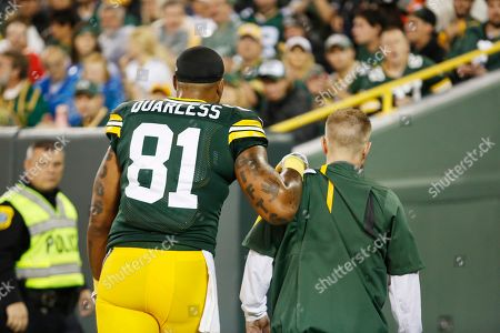 Editorial image of Chiefs Packers Football, Green Bay, USA - 28 Sep 2015