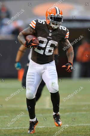 Cleveland Browns running back Willis McGahee during an NFL football game against the Jacksonville Jaguars, in Cleveland. Jacksonville won 32-28
