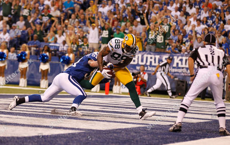 Editorial image of Packers Colts Football, Indianapolis, USA - 26 Aug 2011