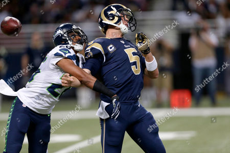 Editorial photo of Seahawks Rams Football, St. Louis, USA - 13 Sep 2015