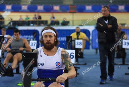 Sir Bradley Wiggins competes in the Men's 2000m