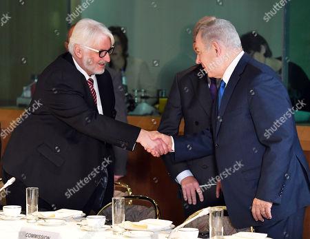 Benjamin Netanyahu and Witold Waszczykowski