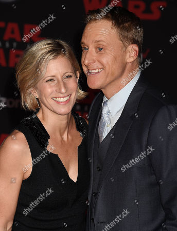 Alan Tudyk and Charissa Barton