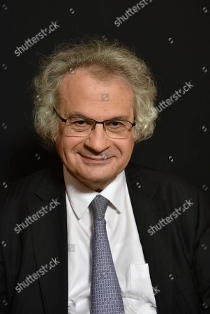 Editorial picture of Amin Maalouf, author, Paris, France - 08 Dec 2017