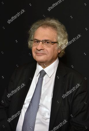 Editorial image of Amin Maalouf, author, Paris, France - 08 Dec 2017