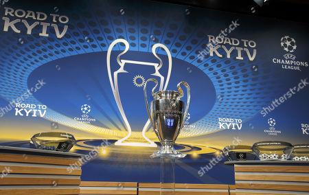 Champions League Round 16 Draw Nyon Stock Photos Exclusive