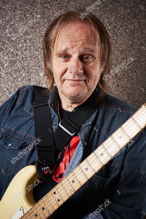 Notodden Norway - August 5: Portrait Of American Musician Walter Trout Photographed Backstage At Notodden Blues Festival In Norway