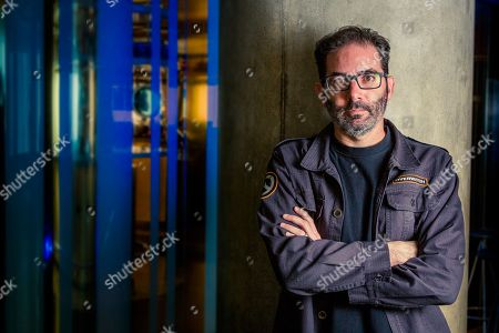 Editorial image of Jeff Kaplan Portrait Shoot, London