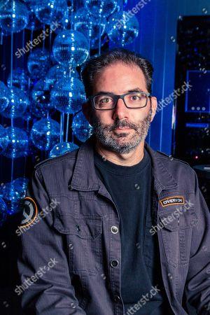 Editorial picture of Jeff Kaplan Portrait Shoot, London