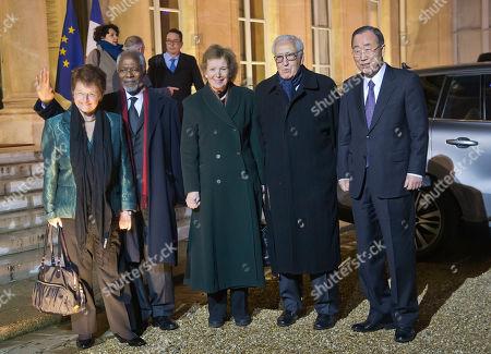 Editorial picture of Haiti, Paris, France - 11 Dec 2017