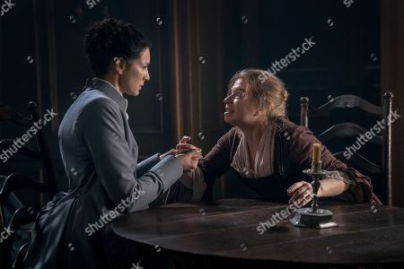 Stock Image of Caitriona Balfe, Alison Pargeter