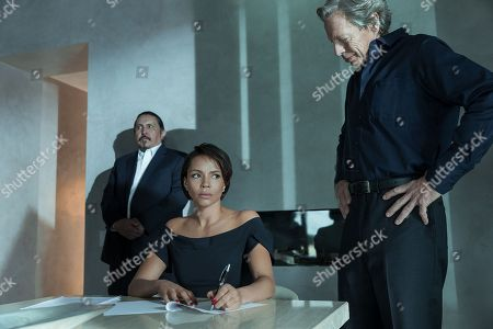 Stock Image of Fredrick Lopez, Carmen Ejogo, Tad Jones