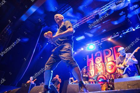 Editorial image of Happy Mondays in concert at O2 Academy, Newcastle, UK - 08 Dec 2017