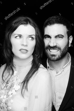Stock Picture of Aisling Bea and Brett Goldstein