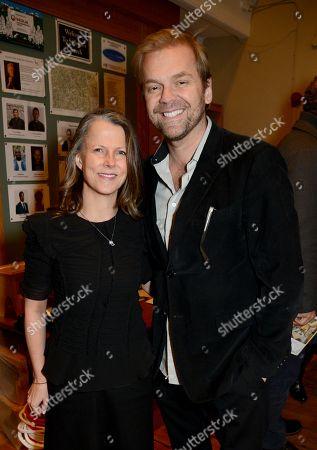 Natalie Elliott and Bill Granger