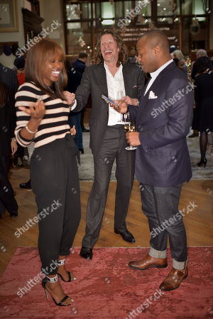 June Sarpong MBE, Pierre Lagrange and Ebs Burnough