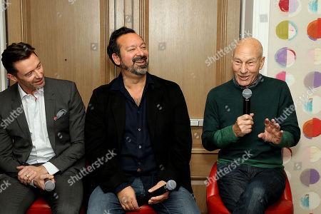 Hugh Jackman, James Mangold (Director), Patrick Stewart