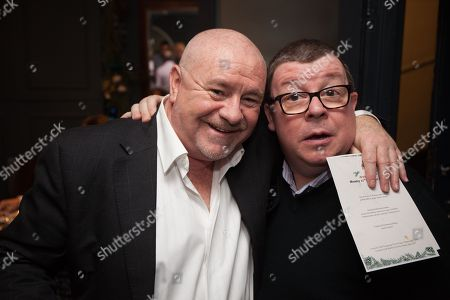 Stock Picture of David Gillespie and Perry Benson