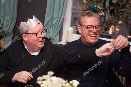 Stock Photo of Suggs and Perry Benson
