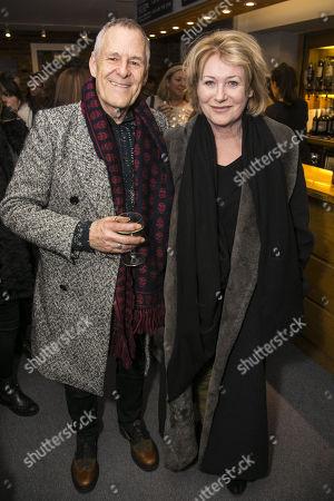 Ian Gelder and Jill Baker