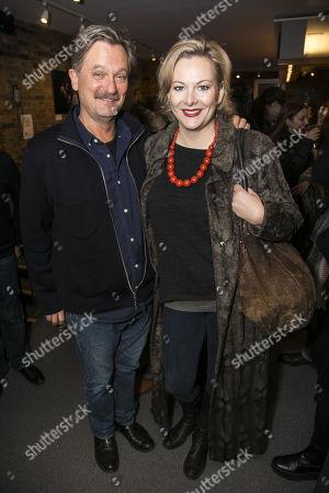 Simon Shepherd (Lord Summerhays) and Sara Stewart