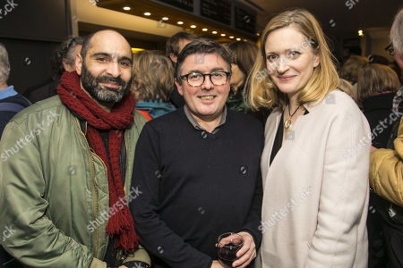 Stock Picture of Zubin Varla, Paul Miller (Director) and Claire Price