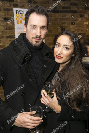 Stock Image of David Caves and Verity Cunningham