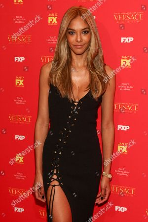 """Heidy De la Rosa attends a special screening of """"The Assassination of Gianni Versace: American Crime Story"""", in New York"""