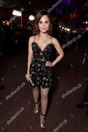 Rosanna Pansino at Columbia Pictures Los Angeles premiere of JUMANJI: WELCOME TO THE JUNGLE