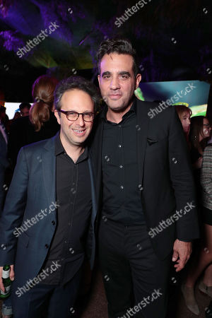 Jake Kasdan, Director/Executive Producer, and Bobby Cannavale at Columbia Pictures Los Angeles premiere after party of JUMANJI: WELCOME TO THE JUNGLE