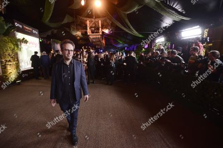 Hollywood, CA - December 11, 2017 - Jake Kasdan, Writer/Director, at Columbia Pictures Los Angeles premiere of JUMANJI: WELCOME TO THE JUNGLE