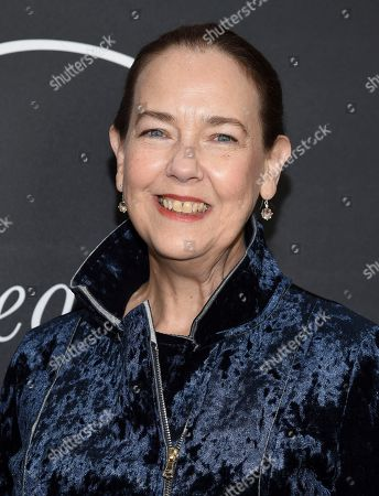 """Actress Harriet Sansom Harris attends the premiere party for """"Phantom Thread"""" at Harold Pratt House, in New York"""