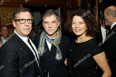 Stock Picture of Richard LaGravenese, Paul Thomas Anderson (Director), Donna Langley (Chairman, Universal Pictures)