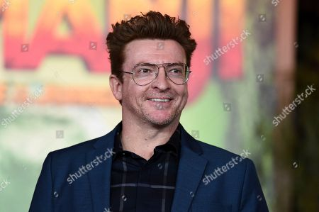 "Rhys Darby arrives at the Los Angeles premiere of ""Jumanji: Welcome to the Jungle"" on in Hollywood, Calif"