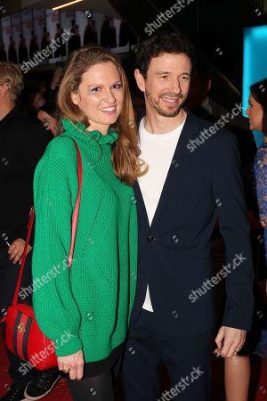 Oliver Berben mit Ehefrau Katrin,..