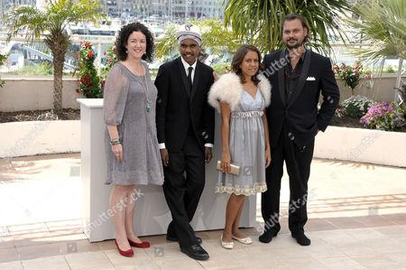 Robe Grise, Rowan McNamara, Marissa Gibson, director Warwick Thornton